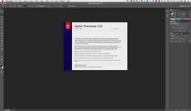 Adobe Photoshop CS6 Extended 13.0 for Mac about