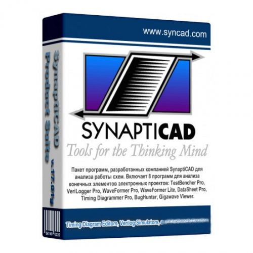 SynaptiCAD Product Suite 20.32 box