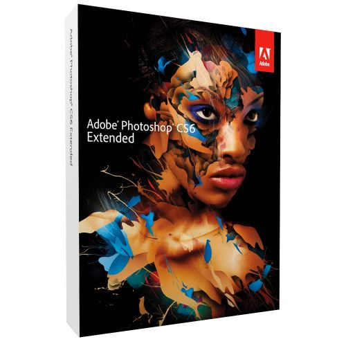 Adobe Photoshop CS6 Extended 13.0 for macOS box