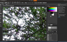 Corel PaintShop Pro X4 14.0 screenshot