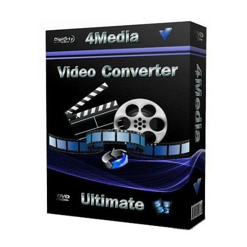 4Media Video Converter Ultimate 7.8.11 box