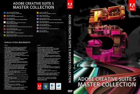 Adobe Creative Suite CS5 Master Collection dvd cover