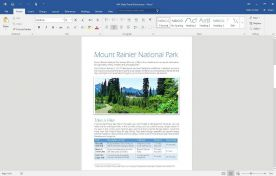 Microsoft Office 2016 Professional Plus English screenshot