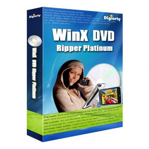WinX DVD Ripper Platinum 8.5.1 box