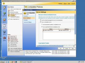 Symantec Endpoint Protection 12.1 screenshot