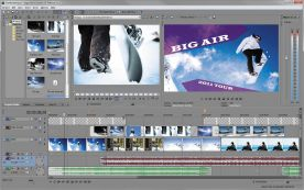 Sony Vegas Movie Studio HD Platinum 11.0 screenshot