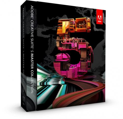 Adobe Creative Suite CS5 Master Collection box