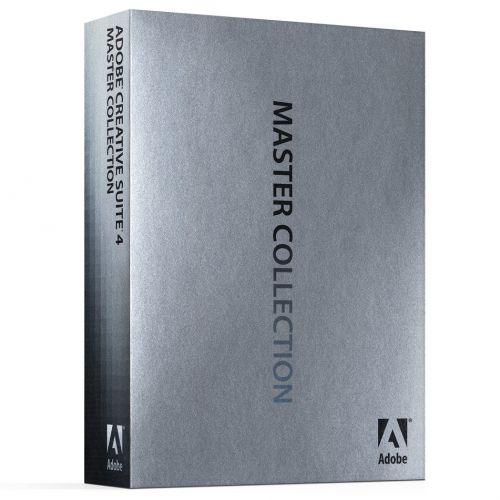 Adobe Creative Suite CS4 Master Collection box