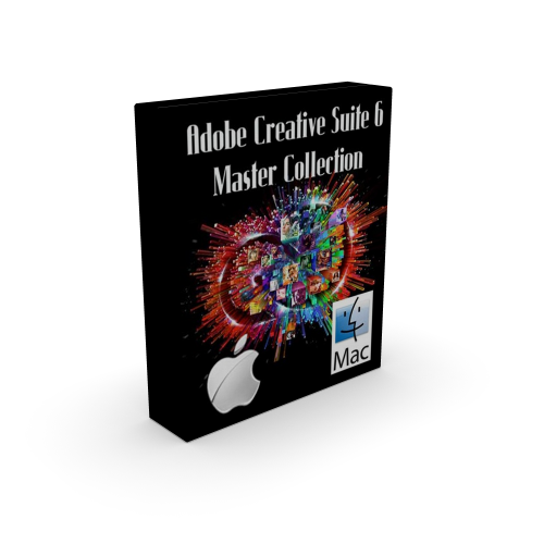 Adobe CS6 Creative Suite 6 Master Collection for macOS box