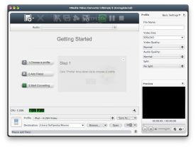 4Media Video Converter Ultimate 6.7 screenshot