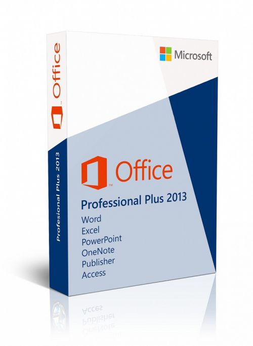 Microsoft Office Professional Plus 2013 64-bit box