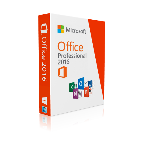 Microsoft Office 2016 Professional Plus English box